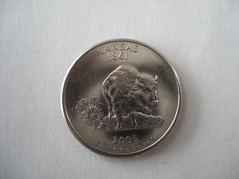 アメリカ各州コイン1