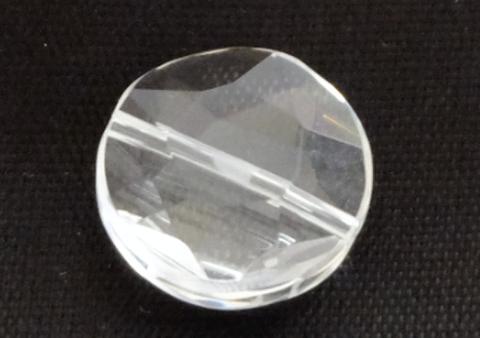 クリアクォーツ(水晶)コイン星14mm【1粒売り】