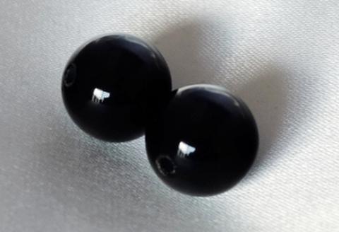 オニキス12mm玉【2粒売り】