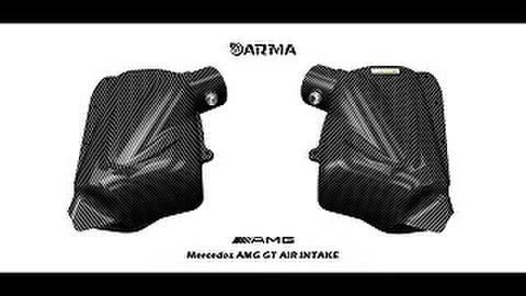 Mercedes BenZ AMG GT エアインテーク