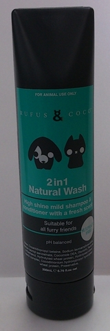 Rufus&Coco(ルフス&ココ)2in1 Natural Wash(ナチュラルウォッシュ)