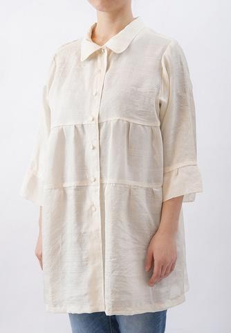 着物リメイク-正絹もみの段々