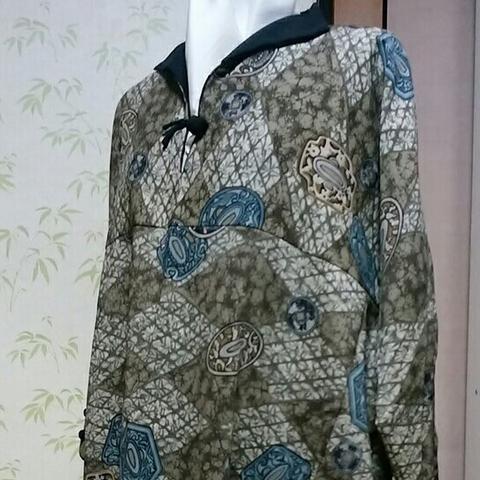 着物リメイク-デザインワンピース(2)