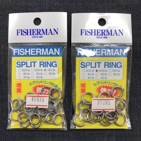 FISHERMAN スプリットリング / 4size