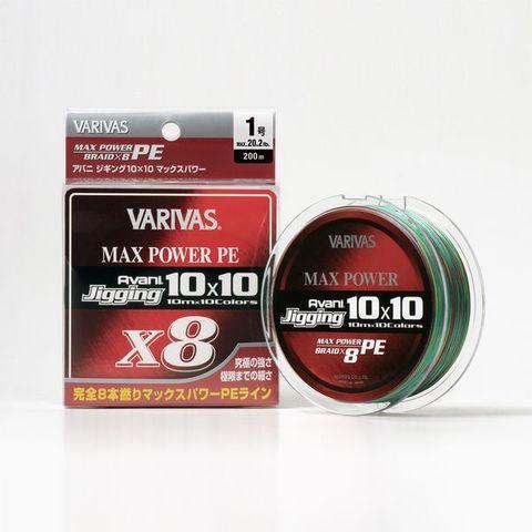 バリバス アバニ ジギング10×10 マックスパワー X8