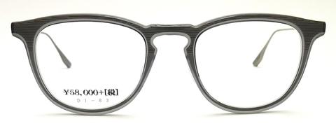 【フロントにステンレスを挟み込んだ傑作モデル】DITA FALSON DTX105-49-03AF // GRY-SLV