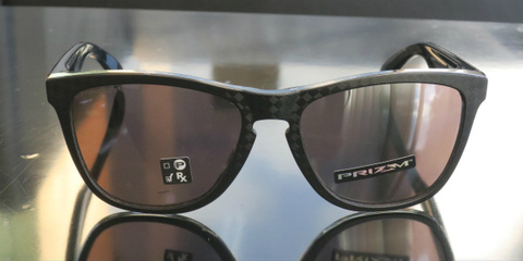【CHECKBOX COLLECTION】オークリー Frogskins CHECKBOX COLLECTION Black / PRIZM BLACK(プリズムブラック)