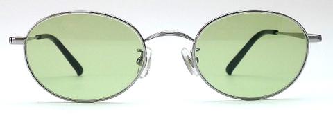 【期間限定セール企画・クラシック&インテリジェンスなオーバルサングラス】BLESS ORIGINAL Classic Eight-SUN Lens Color:Green
