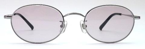 【期間限定セール企画・クラシック&インテリジェンスなオーバルサングラス】BLESS ORIGINAL Classic Eight-SUN Lens Color:Amethyst Gray