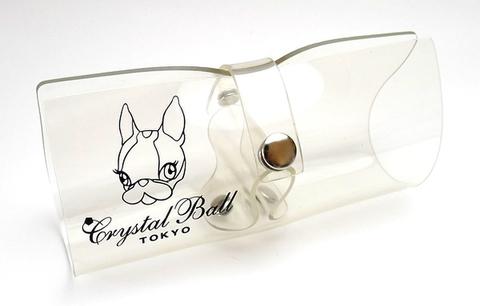 【レアなアイウェアケース】Crystal Ball(クリスタルボール) アイウェアケース・クリアー