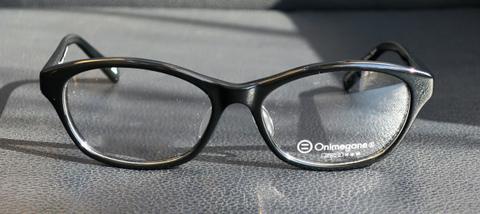 【細身リムのクラシックフレーム】 Onimegane(オニメガネ) OG-7805 BK