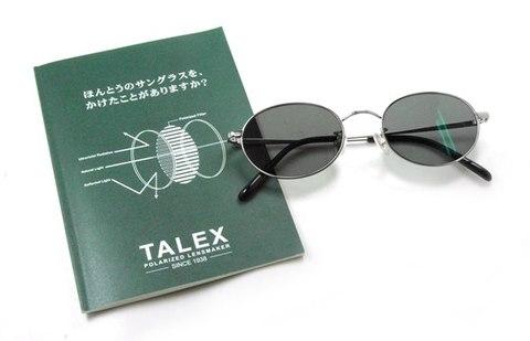 【期間限定セール企画・Eight×TALEX・クラシックと偏光レンズが融合したカスタムサングラス】BLESS Classic Eight-SUN POLARIZED Lens Color:トゥルービュー フォーカス ノンコート