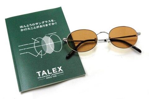 【期間限定セール企画・Eight×TALEX・クラシックと偏光レンズが融合したカスタムサングラス】BLESS Classic Eight-SUN POLARIZED Lens Color:ラスターブラウン ノンコート