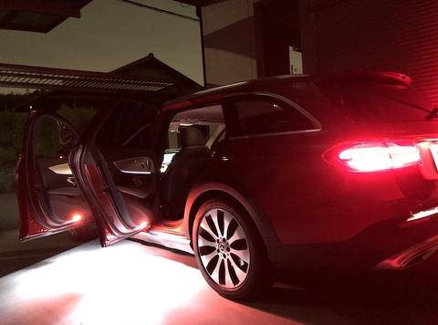 メルセデスベンツ Eクラス W213・S213/Epistar 3030 monster LEDドアカーテシランプ/Benz-E/W213・S213(前期・後期)