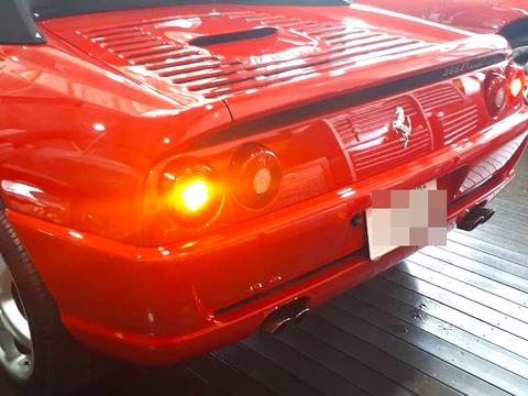 Ferrari F355/キャンセラー内蔵 LEDウインカーバルブ(前後左右 4個セット)フェラーリ F355ベルリネッタ・GTS・スパイダー