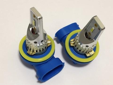 [強烈な輝度 2000ルーメン] LEDフォグランプ/Original Custom C.S.P/2000LM(ホワイト・イエロー)H8/H9/H11/H16(JP) 兼用