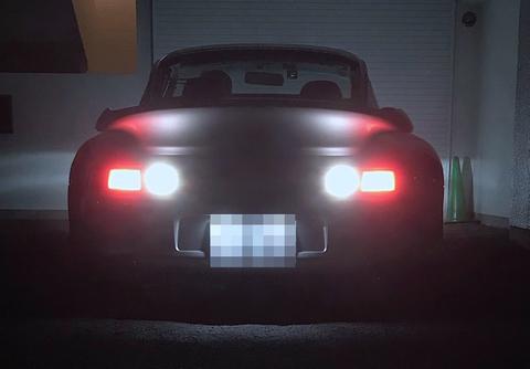 ポルシェ 911カレラ(993)バックランプ(リバース)Canbus 3030LED 1000LM・6000K/PORSCHE 993型 911 Carrera S