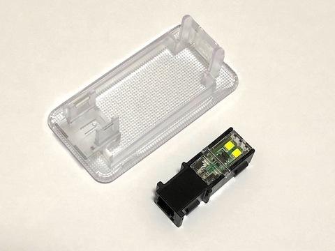 60系ハリアー/純正交換用 LED(SMD2835) ラゲージルームランプ/ASU・AVU・ZSU6#(後期)