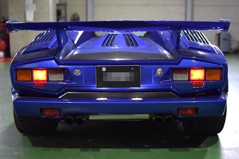 Lamborghini Countach 25th Anniversary/LED(SMD2835)ライセンスランプ/ランボルギーニ カウンタック・25thアニバーサリー
