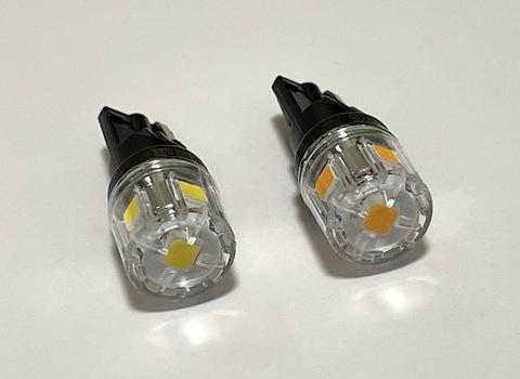 T10/ウルトラ 3030 LED(5pcs) 400LM/色温度 K(ケルビン数)別/2個セット(4000K/6000K/8000K)