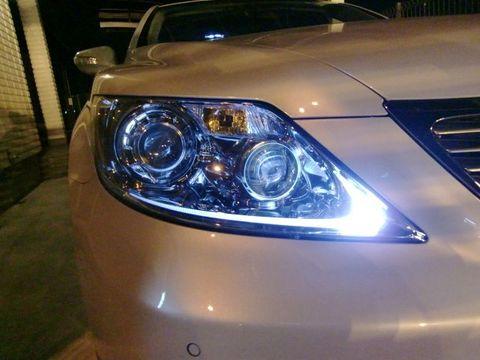 LEXUS LS460(前期) ポジションランプ/monster 3014 H.L LED(20pcs) 390LM