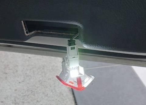 メルセデスベンツ GLAクラス X156/Epistar 3030 monster LEDドアカーテシランプ/MercedesBenz-GLA/X156
