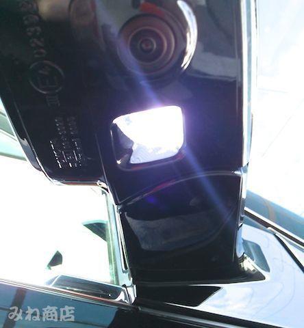 60系ハリアー Epistar 3030 Power LED ドアミラーウエルカムランプ 60 HARRIER/ASU・AVU・ZSU6#(前期・後期)