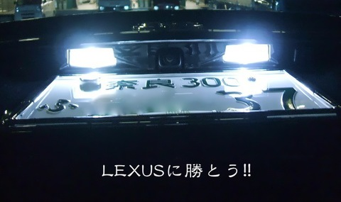 MARK X 輝光 LED(SMD) ナンバー灯!! マークX/GRX13#