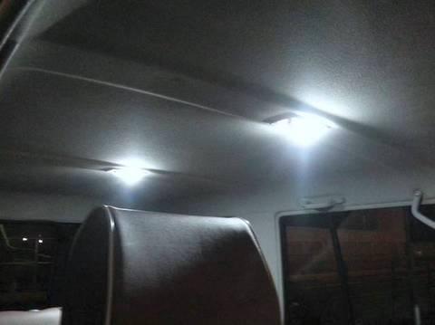 LAND CRUISER 70(復活モデル)/2835 Power LED フロント&リアルームランプ/ランクル70/GRJ76K