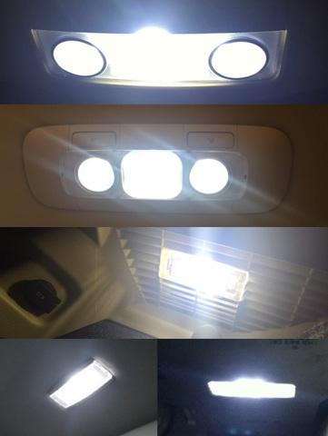 フォルクスワーゲン ゴルフ5/LED (SMD) ルームランプセット/Golf 5 GT・GTI(1K#)