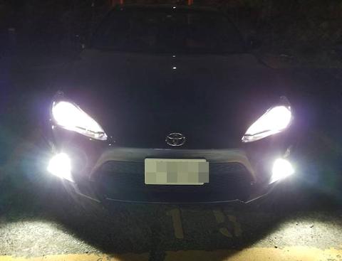 [値引き/セール] トヨタ86・スバルBRZ [強烈な輝度 2500ルーメン] LEDフォグランプ/Epistar 3030 LED(ホワイト・イエロー)ZN6・ZC6
