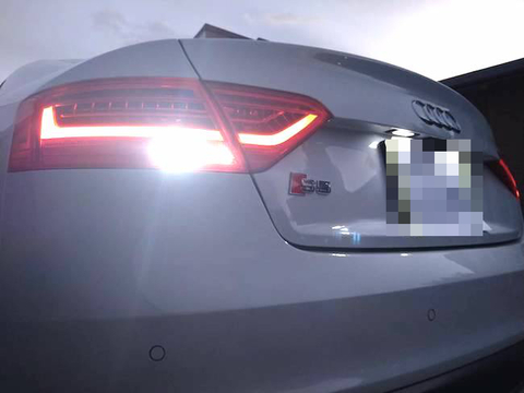アウディ A5・S5 クーペ 8T (B8)/バック(リバース)ランプ/3030monster LED・1200LM/AUDI A5・S5 Coupé 8T (B8)