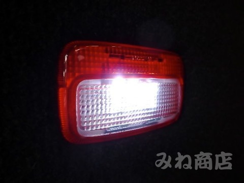 NISSAN GT-R 専用 POWER COB LEDドアカーテシランプ/GTR R35 (2007~)
