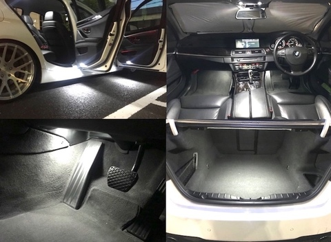 BMW 5シリーズ F10/Epistar 3030 monster LEDルームランプセット/BMW 5(F10)