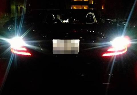 メルセデスベンツSLKクラス R172/バック(リバース)ランプ/3030monster LED・1200LM/MercedesBenz-SLK/R172