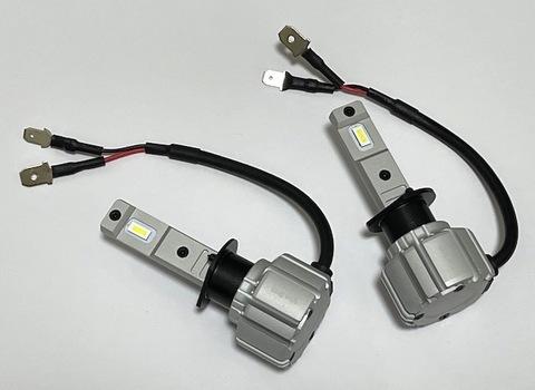 [一体型ポン付け] LEDヘッドライト・フォグランプ(H1)LED 7035 C.S.P/8000lm(6000K)12V車/24V車 兼用(車検対応)