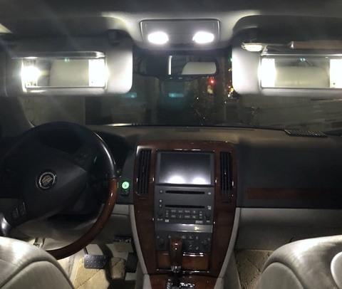 Cadillac STS/LED ルームランプセット/キャデラック・STS(2005~2011)