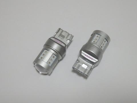 ステルス化LED/T20/7440(シングル)Epistar 2835 LED(500LM)/橙アンバー