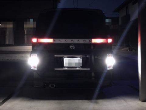 日産エルグランド・E51/バックランプ専用/Epistar 3030 monster LED(9pcs) 800ルーメン/Nissan ELGRAND E51