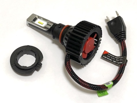 LEDヘッド&フォグライト(H7)Bright C.S.P Led/8000lm(6500K)車検対応 [正規代理店経由]