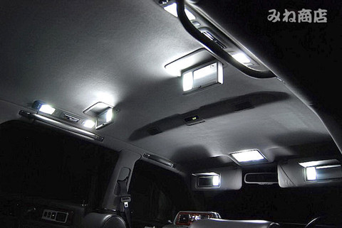 センチュリー 専用/High Lumen LEDルームランプセット/CENTURY・GZG50
