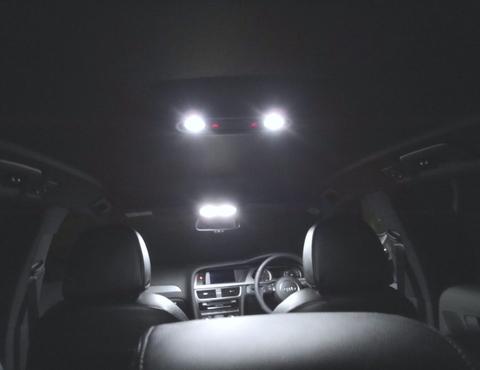 アウディA4/3030 monster LEDルームランプセット/AUDI A4・S4 8K (B8)/アバント(前期・後期)