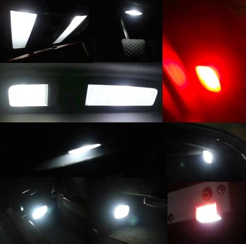 メルセデスベンツ Sクラス W221前期(ショート)Epistar 3030 monster LED ルームランプセット/Benz-S/W221前期