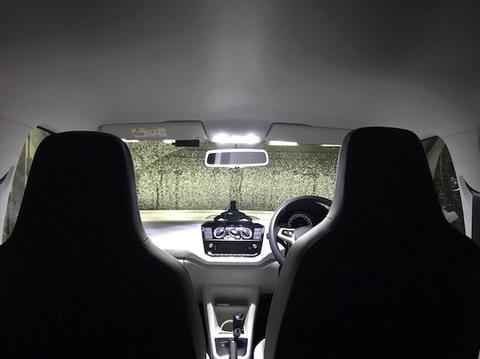 フォルクスワーゲン アップ/LED ルームランプセット/VW up!・AADKR/AACHY(後期)
