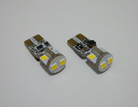 T10/Epistar 3030 Power LED/300LM/CANBUS キャンセラー内蔵/色温度 K(ケルビン数)別/2個セット(4500K/5500K/6000K/8000K/12000K)