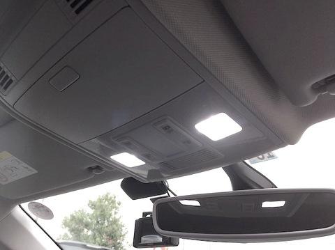フォルクスワーゲン ポロ/LED ルームランプセット/VW Polo・AWCHZ(トレンドライン・コンフォートライン)