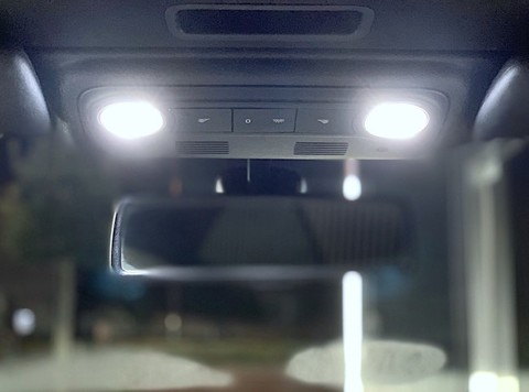 フォルクスワーゲン イオス/3030 monster LEDルームランプセット/VW EOS(1F)