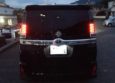 ヴォクシー/専用製作 LED(SMD5050)ナンバー灯!!/VOXY・ZWR/ZRR8#