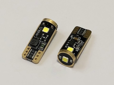 T10/Epistar 3030 monster LED(3pcs)/300LM/CANBUS キャンセラー内蔵/2個セット