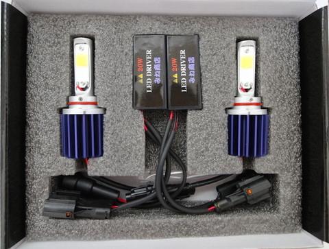 [値引き/セール] LEDフォグランプ/HIGH LUMEN POWER COB LED FOG LAMP KIT/2200lm (6000K) HB4 (9006)